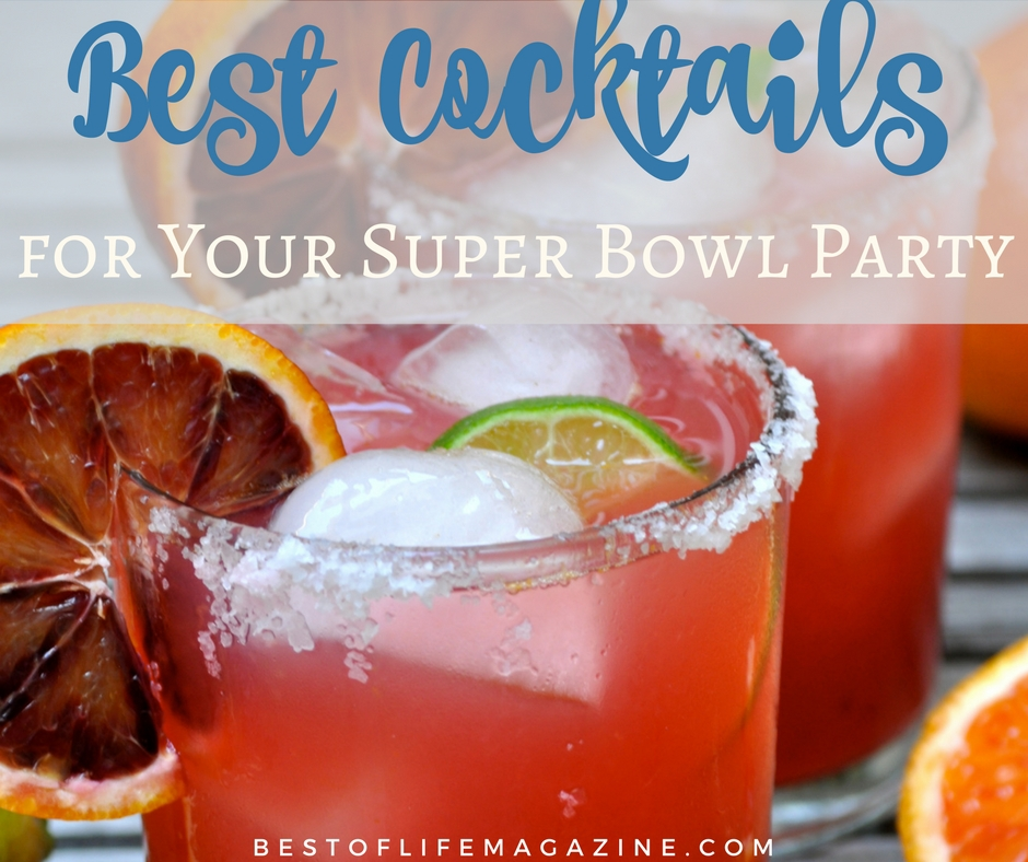 Super Bowl Party Drinks And Cocktails For Game Day 35