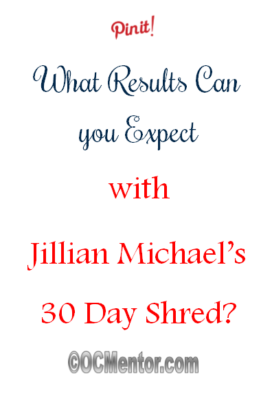 Wondering what Jillian Michael's 30 Day Shred results to expect? Look no further because we have everything you need right here.