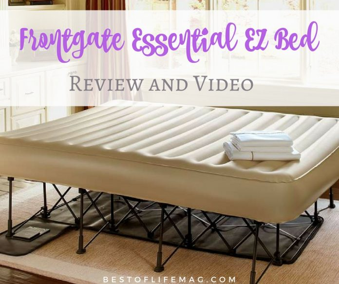 The Frontgate EZ Bed is the air mattress for anyone who appreciates a good night's sleep while staying at a friend or family member's home.