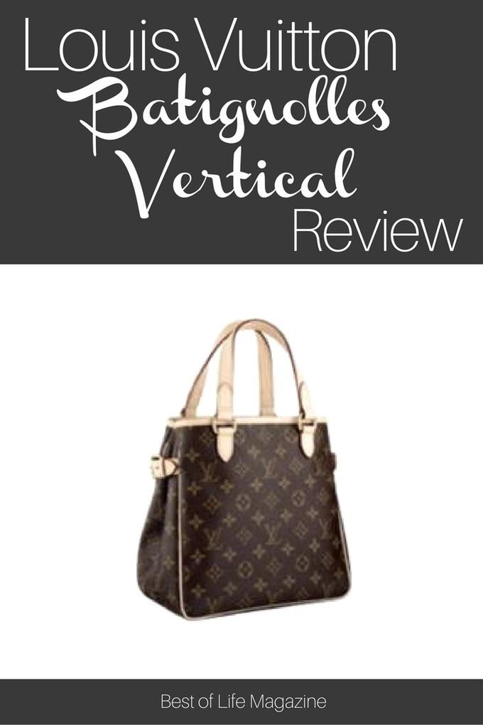 Add a touch of everyday luxury to your handbag collection with the Louis Vuitton Batignolles Vertical handbag.   via @amybarseghian