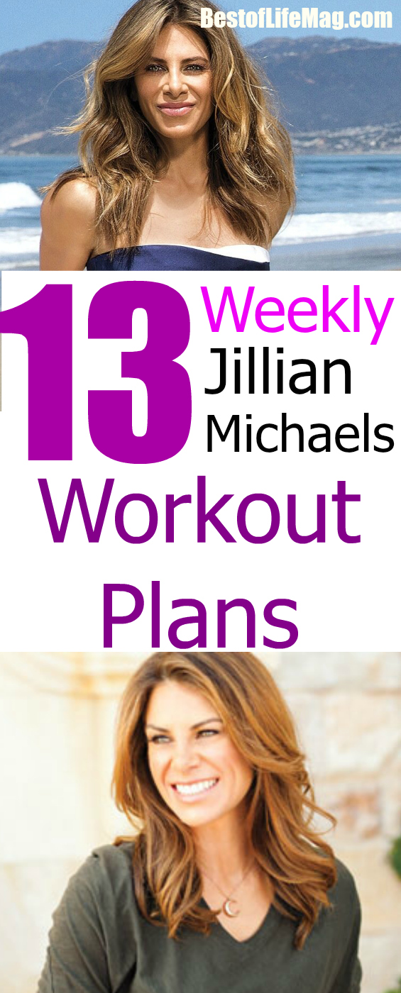 13 Amazing Jillian Michaels Workout Plans