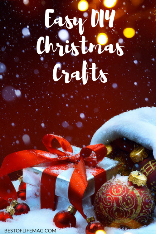Make the holidays even more fun with these DIY Christmas crafts! They can be adapted for any holiday.