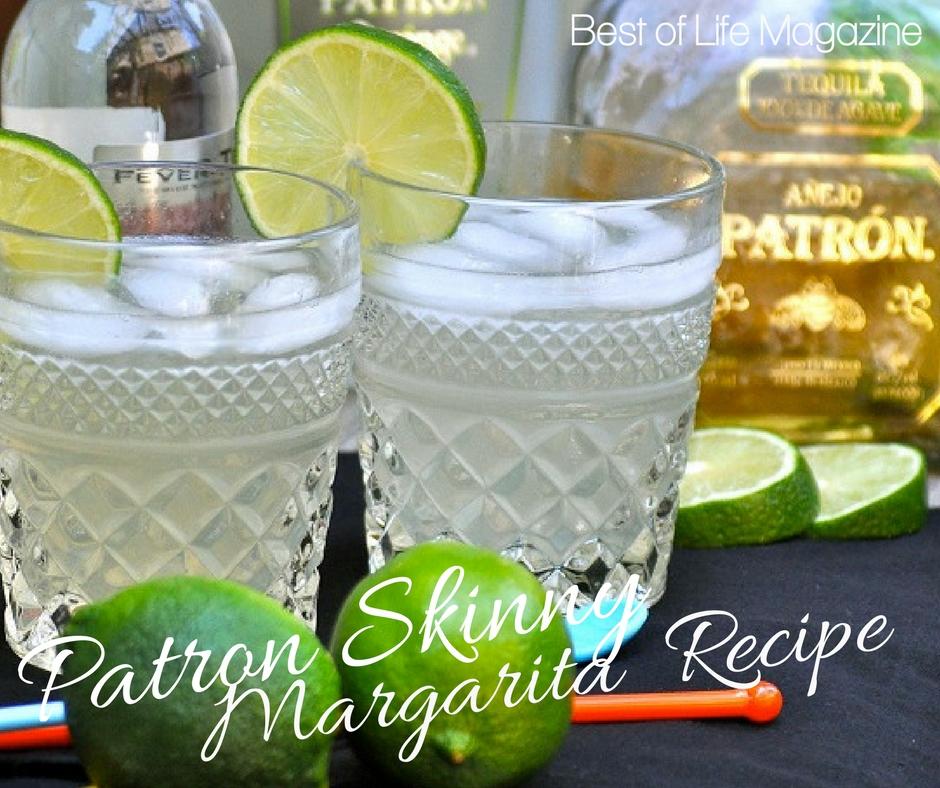 Patron Skinny Margarita Recipe {The Best Skinny Margarita