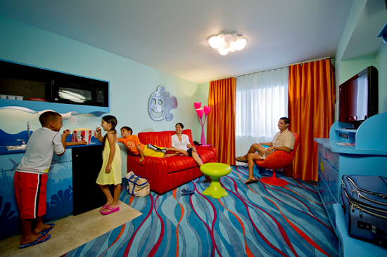 Disney Art of Animation Resort Finding Nemo Suites Review