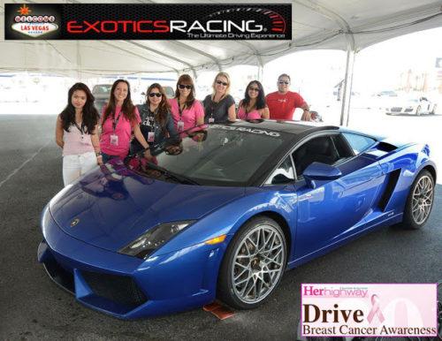 exotics racing breast cancer awareness