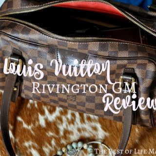 The Louis Vuitton Rivington GM in Damier Ebene has unique features and is actually a Louis handbag that is not seen as often, which makes it an even more special handbag.
