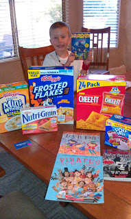 Kellogg's and Scholastic Books for Kids