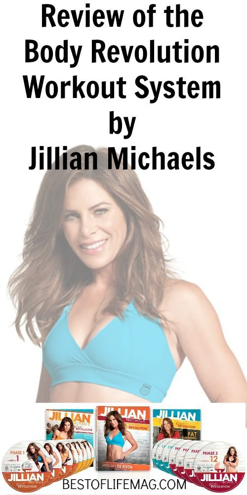 Jillian Michael's Body Revolution Home Workout Review