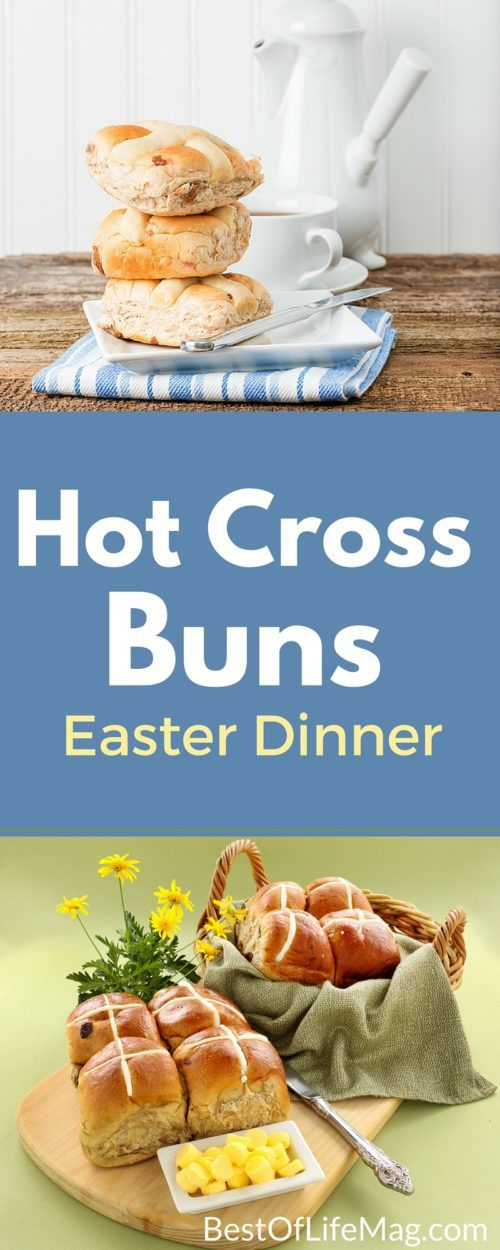 Are you looking for a wonderful recipe to serve on Easter? This Easter Hot Cross Buns recipe will be a hit with everyone! Easter Recipes | Rolls and Buns Recipes | Side Dish Recipes | Spring Recipes | Easter Tips #easter #recipes