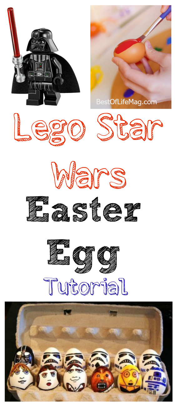 This Lego Star Wars Easter Egg Tutorial is the perfect way for you to show off how much of a Star Wars fan you are! Plus, it is perfect for any age!