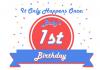 baby's first birthday celebration