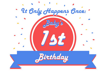Planning Baby's First Birthday {#Infographic}