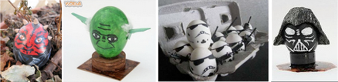 How to Decorate your Lego Star Wars Easter Eggs featured