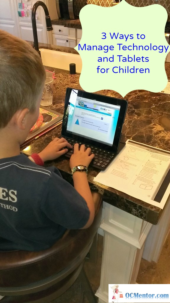3 Ways to Manage Technology and Tablets for Children