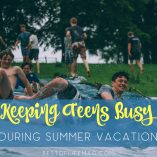 Keep teens busy and on their toes during the summer so they can be ready for the life ahead of them. Parenting Tips   Parenting Teens   Summer Learning Tips   Best Parenting Tips   Best Ideas for Summer   Summer Ideas for Teens