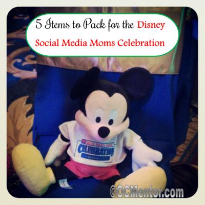 What to Pack for the Disney Social Media Moms Celebration