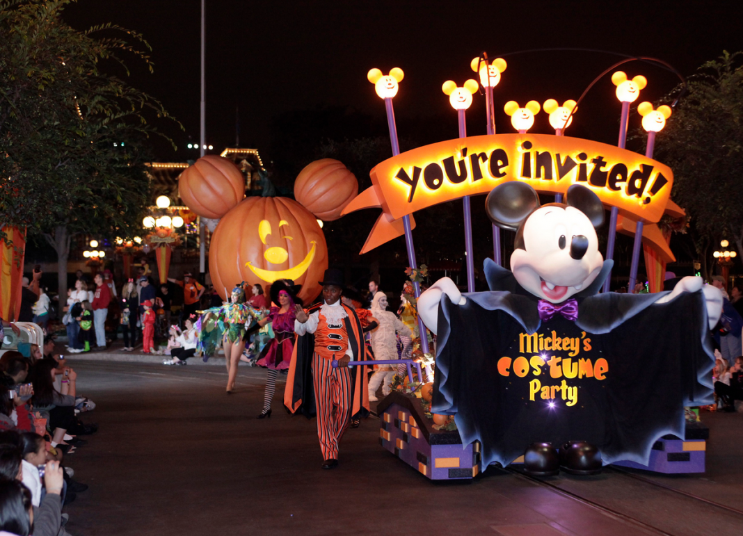 Tickets in Advance for Mickey's Halloween Party at Disneyland