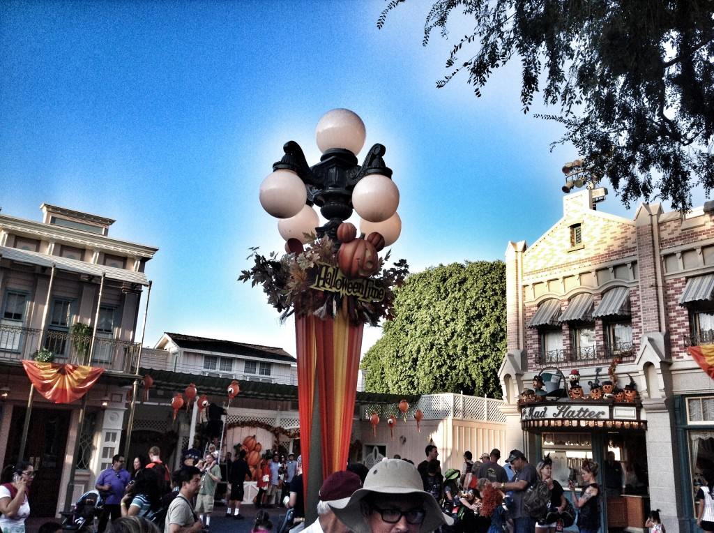 Purchase Tickets in Advance for Mickey's Halloween Party at Disneyland decorations