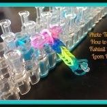 This Photo Tutorial on How to Make a Fishtail Rainbow Loom Bracelet will walk you through each step so you can create a bracelet, necklace, or ring.