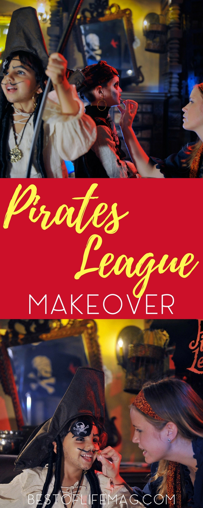 Wondering what to expect with a Pirates League Makeover at Disneyland? Our video walks you through the entire process so you can determine if it's a fit for your child. Things to Do at Disneyland | Disneyland Makeovers | Ahoy Matey | A Pirate's League