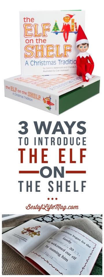 How to Introduce the Elf on the Shelf
