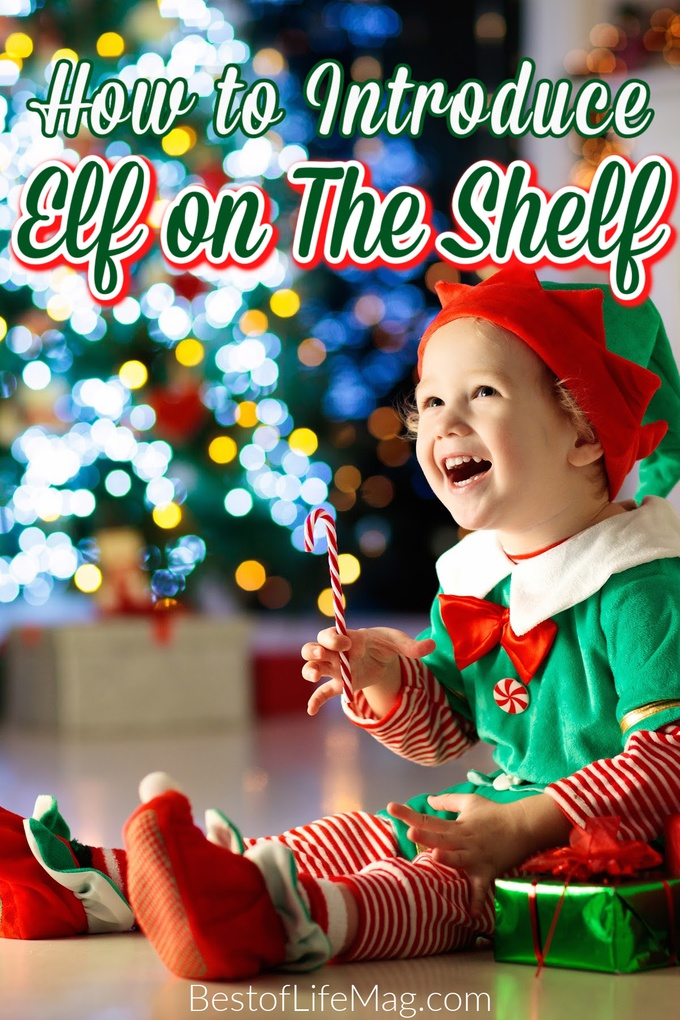 There is no right or wrong time to introduce Elf on the Shelf to your family. Use these ways to introduce Elf on the Shelf to help! Start Elf on a Shelf | How to Introduce Elf on a Shelf | When Can I Introduce Elf on the Shelf | Elf on the Shelf Ages | Elf on the Shelf Age to Start via @amybarseghian