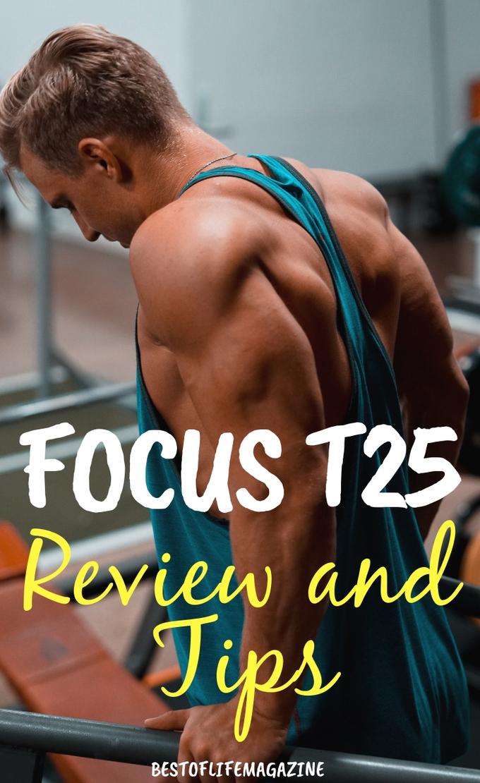 Focus T25 Review and Tips Weeks 1 and 2 - The Best of Life