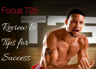 Are you considering the Focus T25 Workout? This Focus T25 Review and Tips for Weeks 1 and 2 will help you make a final decision and get started. Shaun T Workouts | Beachbody Workouts | Beachbody Workout Programs | Beachbody Workout Schedules | Focus T25 Results