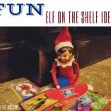 Looking for a few fun and easy Elf on the Shelf activities for the holiday season straight from the North Pole? These Easy Elf on the Shelf ideas will work. Funny Elf on the Shelf Ideas | Easy Elf on the Shelf Ideas | North Pole Christmas Traditions | New Christmas Tradition Ideas