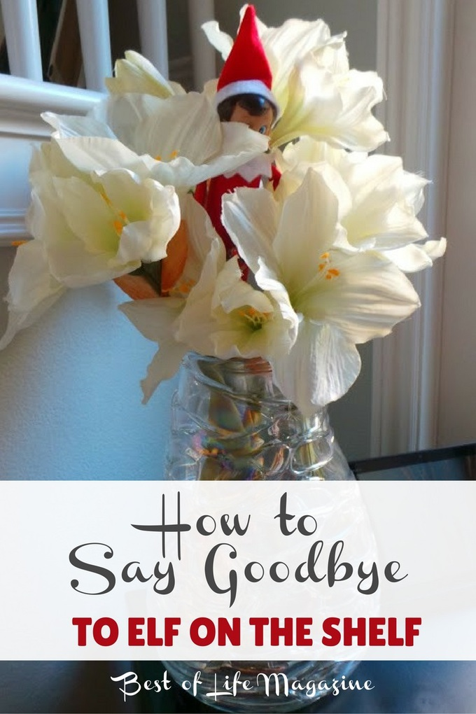 With the special tradition that it is, many wonder just how to say goodbye to Elf on the Shelf. These ideas will help!