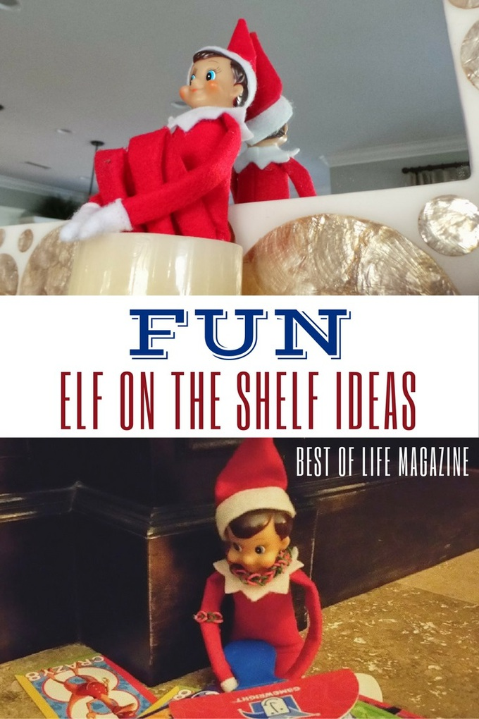 Family Room Design Ideas That Will Keep Everyone Happy: Fun Elf On The Shelf Ideas! - The Best Of Life® Magazine