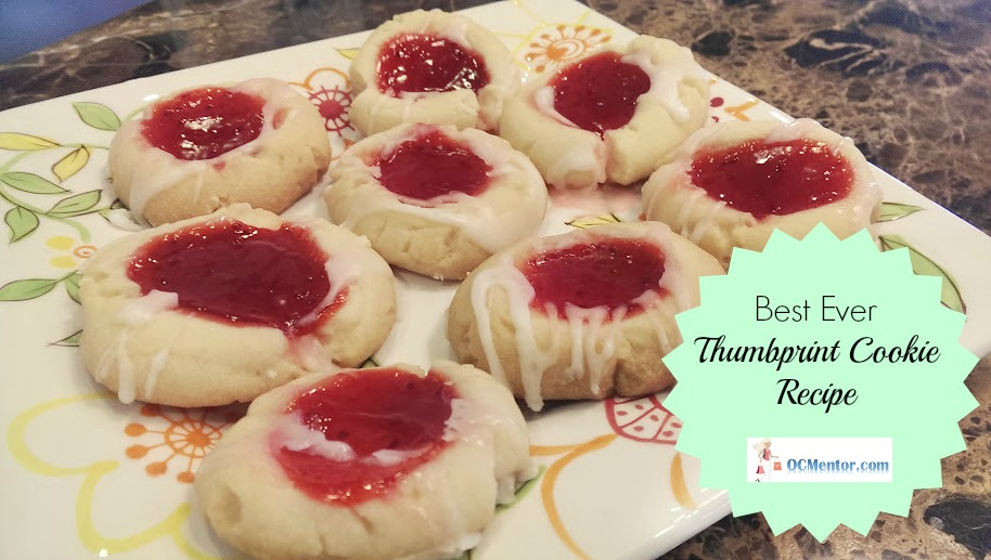Best Thumbprint Cookie Recipe with Jelly Filling