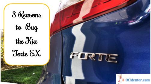 3 Reasons to Buy the Kia Forte EX