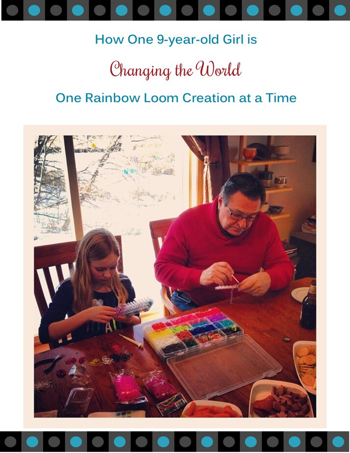How Emma's Charity Bands is Changing the World with Rainbow Looms