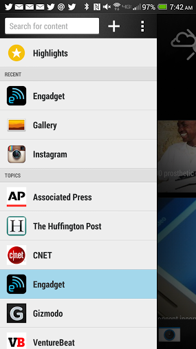 HTC One Max Tips BlinkFeed