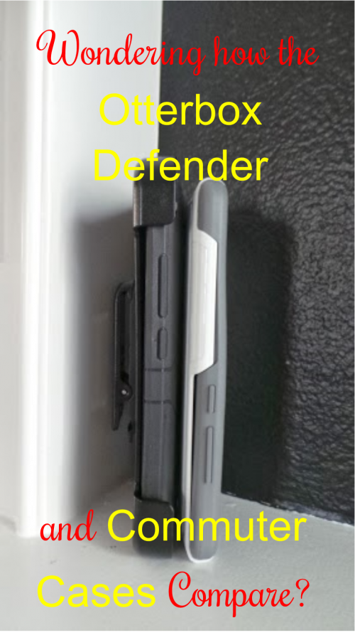 How do the Otterbox Defender and Commuter Cases Compare?