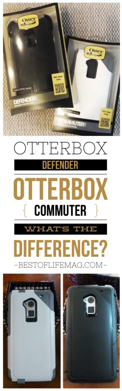 Otterbox Defender vs Commuter Cases - What is the Difference - Wondering just what is the difference between Otterbox Defender and Commuter Cases? Our comparison review shows you how they compare side by side.