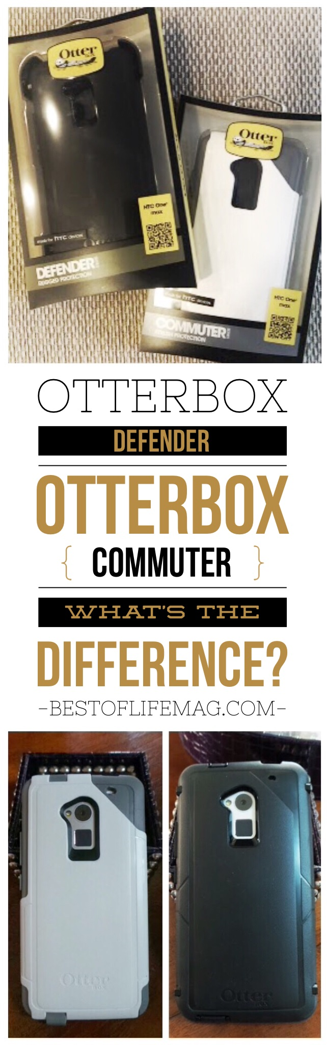Wondering just what is the difference between Otterbox Defender and Commuter Cases? Our comparison review shows you how they compare side by side. via @amybarseghian