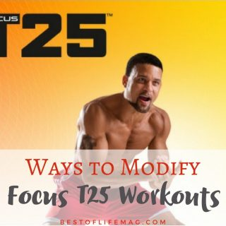 Wondering if you can do Focus T25 workouts? Yes, you can, and these modifications will help you get the results you want. Focus T25 Workouts | Focus T25 Review | How to Modify Workouts | At Home Workouts