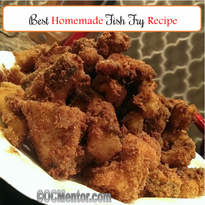 Make at home fish fry recipe the best of life magazine for What is the best oil to fry fish in