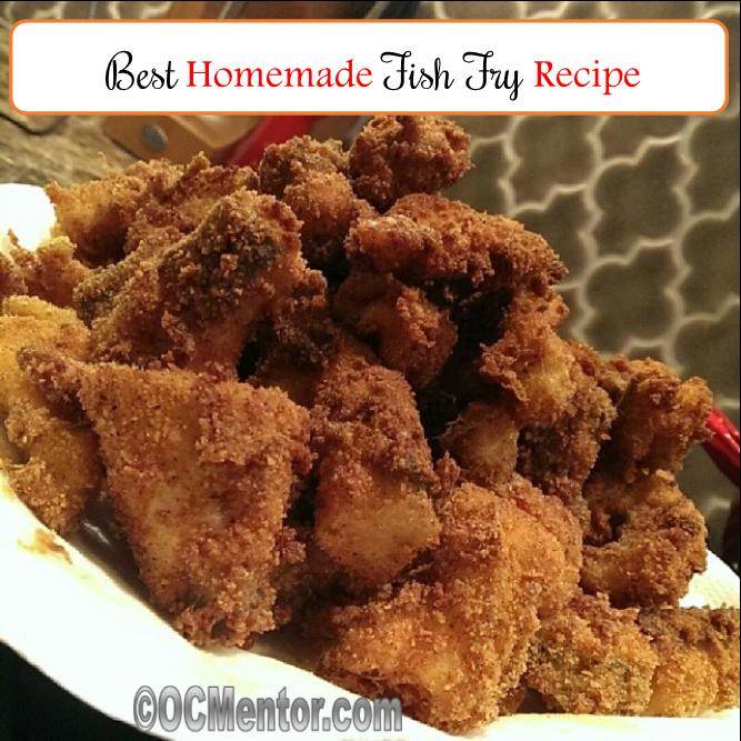 Make at home Fish Fry Recipe