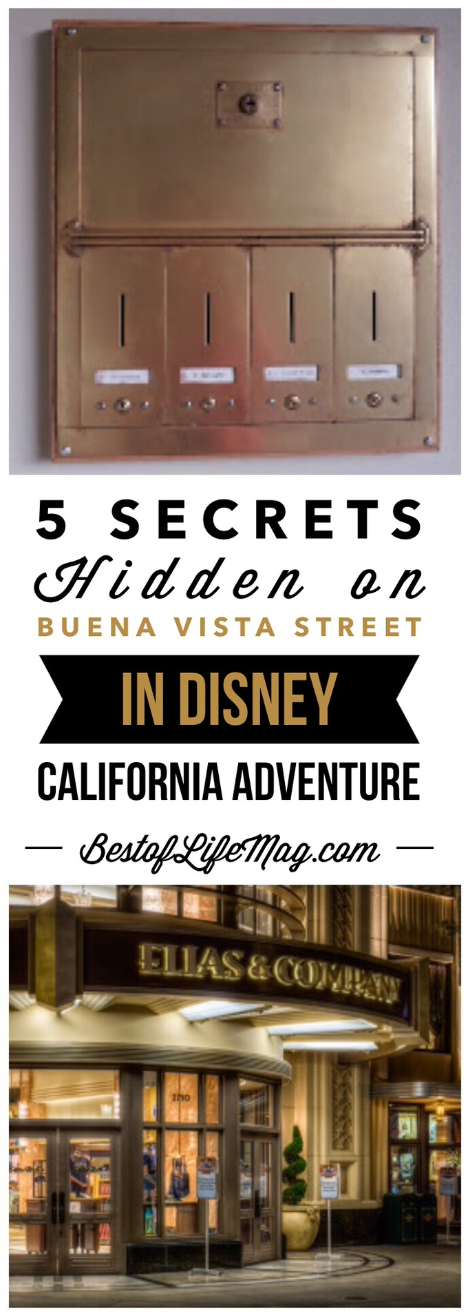 Let's take a detailed look at the new Buena Vista Street in Disney California Adventure and see just how much of Walt's past has been hidden in plain sight. via @amybarseghian