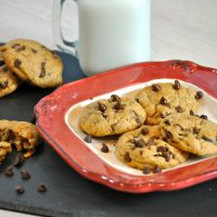 Make these eggless chocolate chip cookies for someone with egg allergies and show them they do not have to give up dessert just because they have a food allergy.