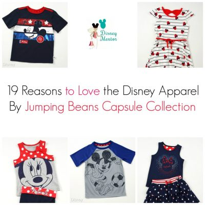 19 Reasons to Love the Disney Apparel by Jumping Beans Capsule Collection via OCMentor.com