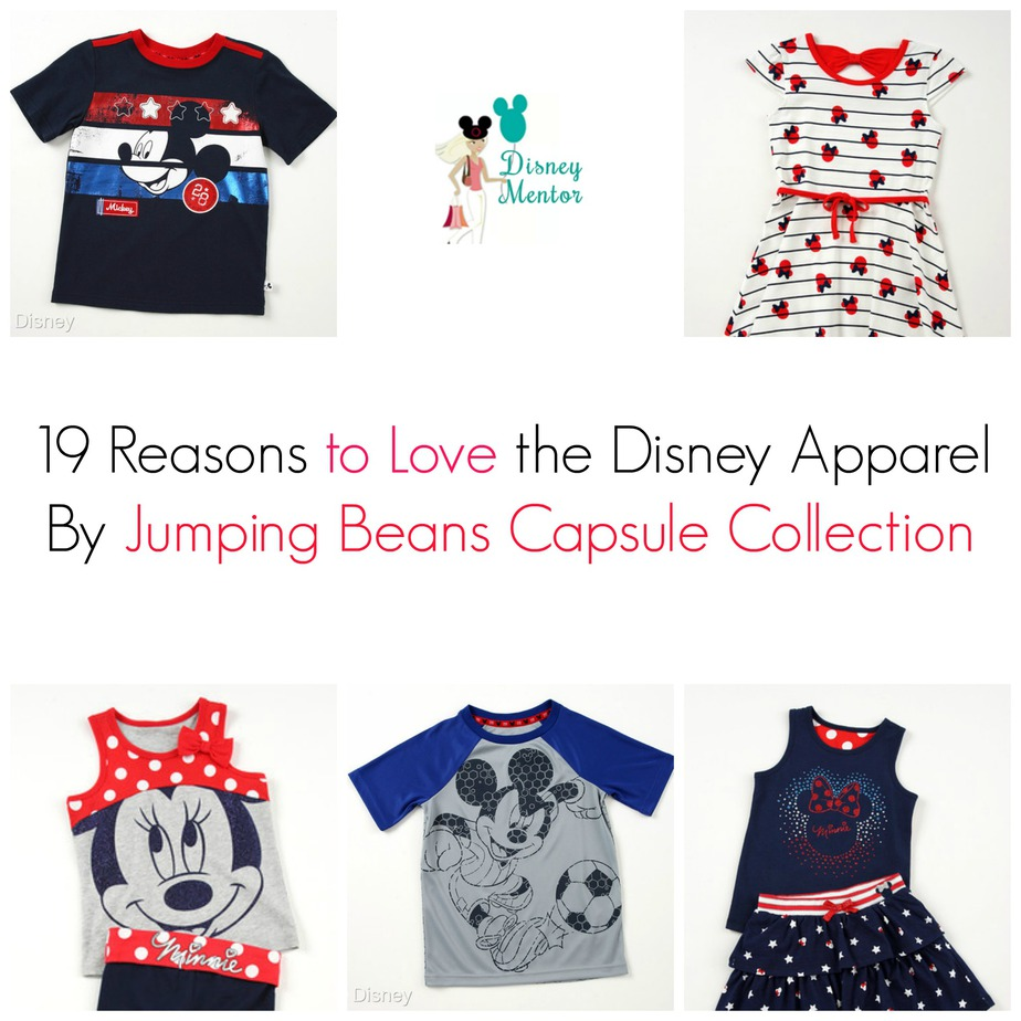 19 Reasons to Love Disney Apparel By Jumping Beans+$50 Kohls Giveaway