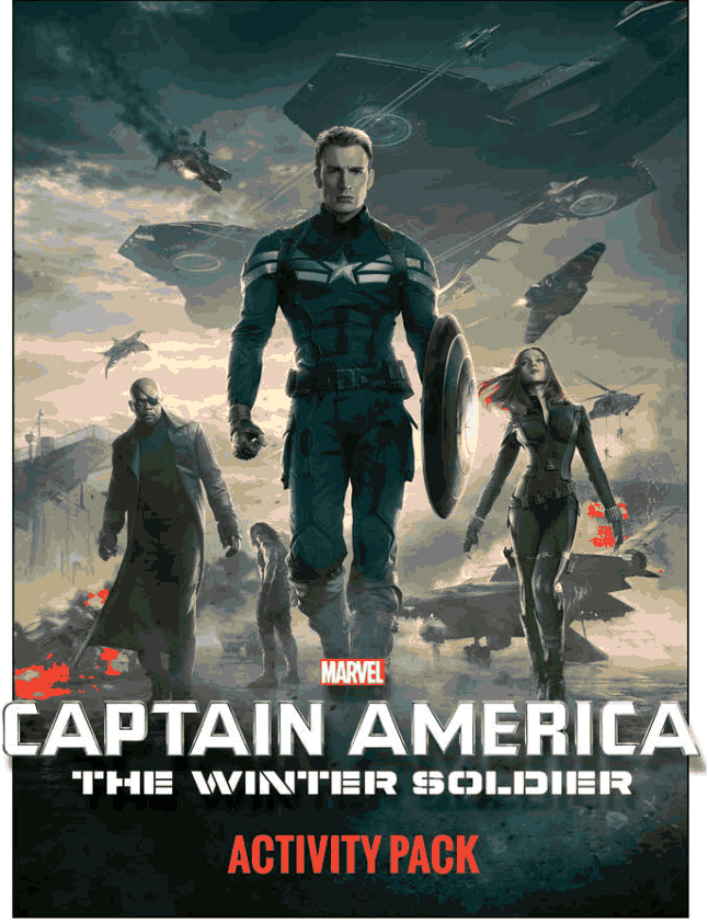 26 Awesome Printables For Captain America: The Winter Soldier {#CaptainAmerica}