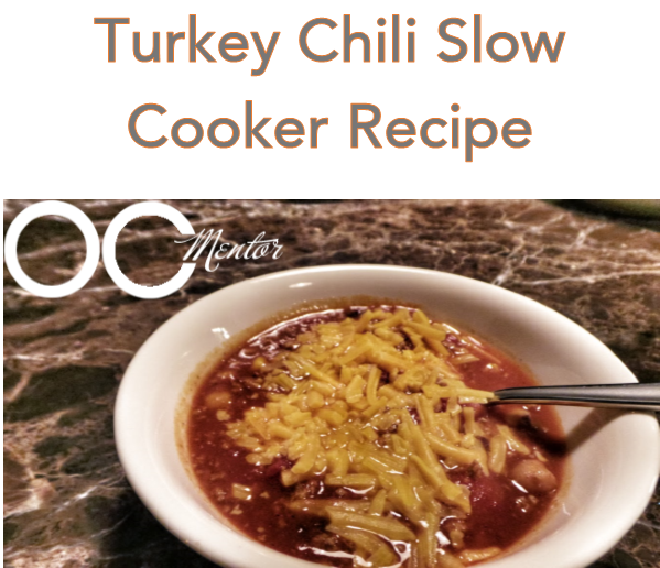 Turkey Chili Slow Cooker Recipe