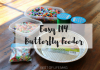 This easy DIY Butterfly Feeder Tutorial is an engaging way to teach your family about butterflies, science, counting, patterns, and remember loves ones.