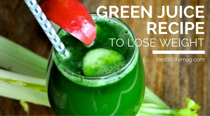 Green Juice Recipe to Lose Weight - The Best of Life ...