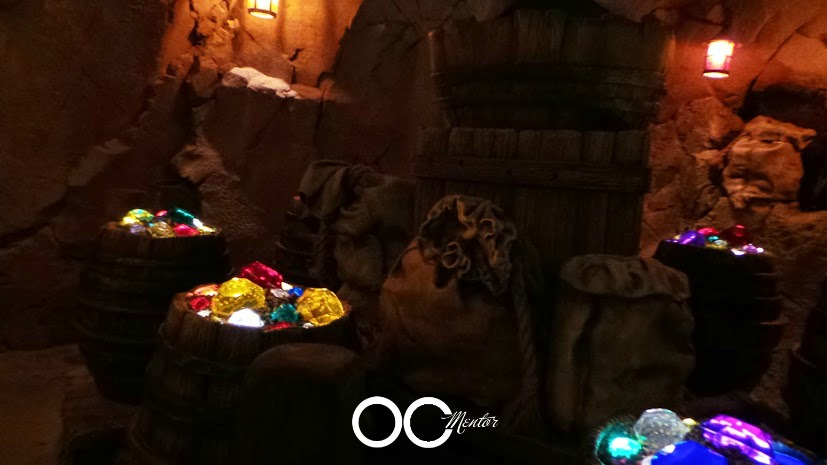 Seven Dwarfs Mine Train barrels - OCMentor.com